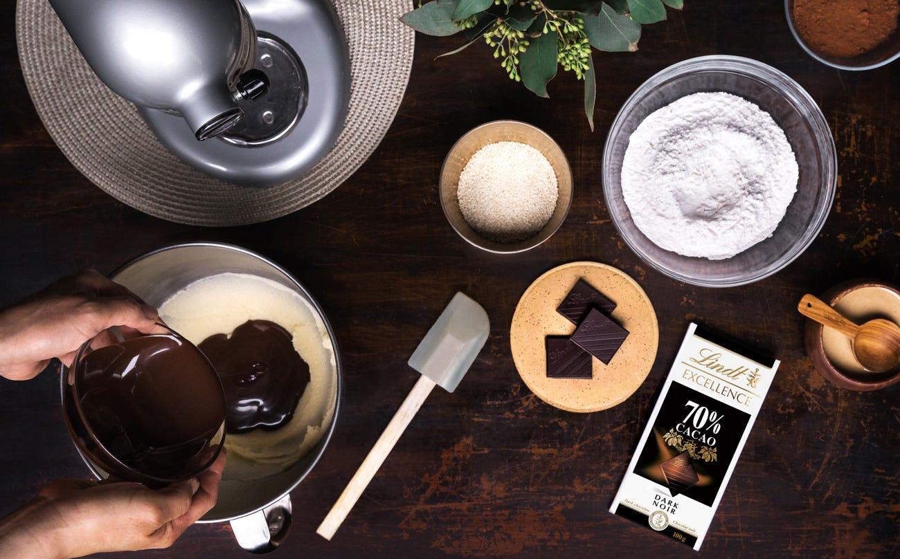 Biscuits végétaliens au chocolat et au tahini Step 4.